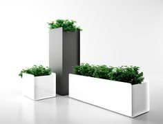 Planter boxes from Systemtronic www.dotorangedesign.com