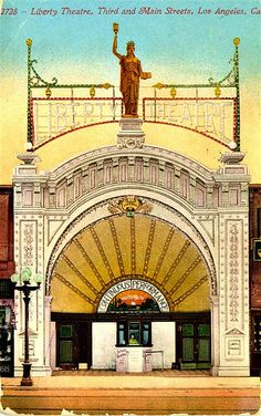 Los Angeles Historic Movie Theaters   ... and Main Streets, Los Angeles, California   Flickr - Photo Sharing