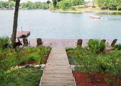 lake landscaping . .