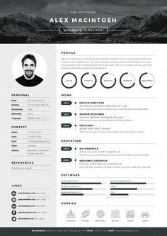 Resume : Mono Resume | GraphicRiver…