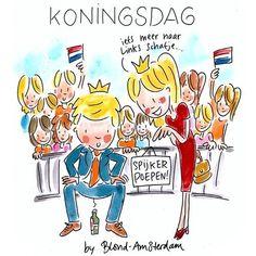 Koningsdag 2014 Blond Amsterdam
