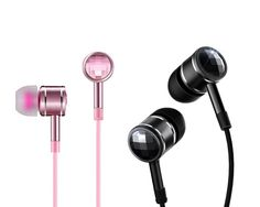1MORE Dual Pack Swarovski Crystal In-Ear Headphones (Earphones/Earbuds/Headset) with Apple iOS and Android Compatible Microphone and Remote (Pink and Black). CRYSTALS FROM SWAROVSKI- our award winning headphone design is embellished with Swarovski Crystals. Chessboard faceted rhinestones sparkle while you enjoy sparkling sound. One pair comes with playful pink Swarovski Crystals and the other pair comes with chic black Swarovski Crystals. TUNED BY A GRAMMY AWARD WINNING SOUND ENGINEER…