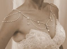 Necklace For The Shoulders1920'sThe Great by mylittlebride on Etsy, $1200.00