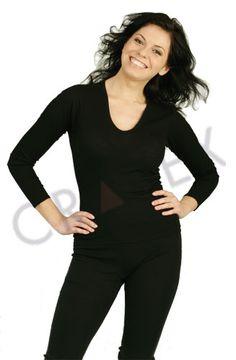 Термобелье шерстяное Cratex - женская кофточка