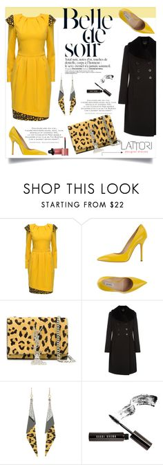 """Lattori #22"" by ana-anaaaa ❤ liked on Polyvore featuring Lattori, Ninalilou, Yves Saint Laurent, Precis Petite, GUESS, Bobbi Brown Cosmetics, Bourjois, polyvoreeditorial and lattori"