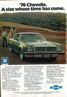 Pub Vintage, Vintage Cars, Chevrolet Chevelle, Chevy, Malibu For Sale, Car Brochure, Auto Sales, Readers Digest, Car Advertising