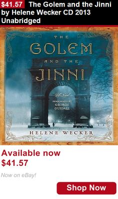 Audiobooks: The Golem And The Jinni By Helene Wecker Cd 2013 Unabridged BUY IT NOW ONLY: $41.57