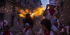 From @big_picture: The nine-day San Fermin festival is underway in Pamplona, Spain: http://trib.al/dARFlIU