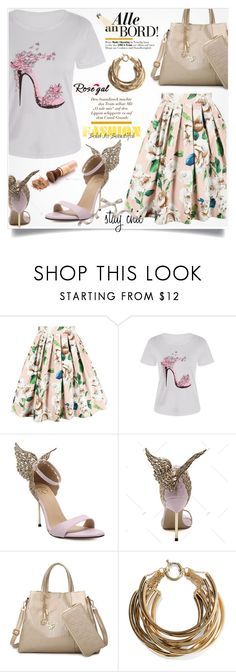 """""""Rosegal 18."""" by lillili25 ❤ liked on Polyvore featuring Rosantica, Mio and vintage"""