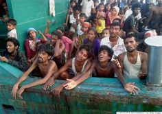 The Boat Of Starving Rohingya Refugees That No Country Will Take In. ----  great fucking world we live in, right?