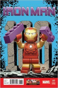 Iron Man #17 Variant Lego Cover After Jim Starlin (2013)
