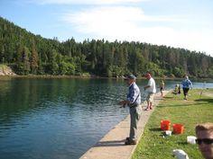 Fishing at St. Peter's Canal, Cape Breton, Nova Scotia