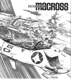 Hikaru's VF-4 & the Megaroad 01