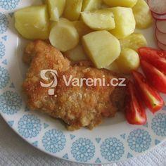 Faraónské řízečky recept - Vareni.cz French Toast, Chicken, Breakfast, Morning Coffee, Cubs