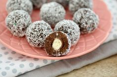 Surprise Choc Ripple & Malteser Balls