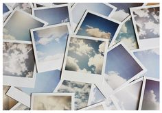 Original Polaroid Photo Dutch Sky van fritzifranzen op Etsy, €4.00