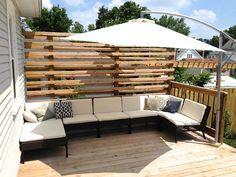 【IKEAで夏の準備】庭やテラスにアーム式のハンギングパラソル