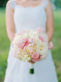 Beautiful bouquet: http://www.stylemepretty.com/2015/04/27/glamorous-private-estate-wedding/ | Photography: Josh Gooden - www.joshgooden.com Photography: Love By Serena - lovebyserena.com