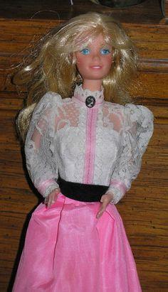 Vintage Mattel Rare 1980's Blonde Hair Angel Face  Barbie Doll