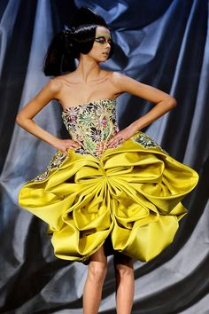 john galliano's art | Keep the Glamour | BeStayBeautiful      Christian Dior Spring 2008 Haute Couture
