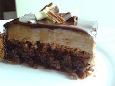 NapadyNavody.sk   Krémové orechovo-čokoládové rezy