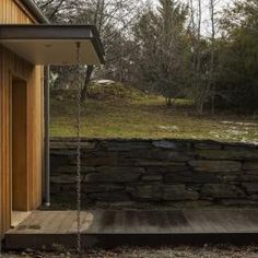 Image 13 of 16 from gallery of Wakatipu Guest House / Team Green Architects. Photograph by Sam Hartnett Classic Architecture, Sustainable Architecture, Passive House Design, Shading Device, Timber Cladding, Relaxing Places, Architect House, Beautiful Space, Luxury Living