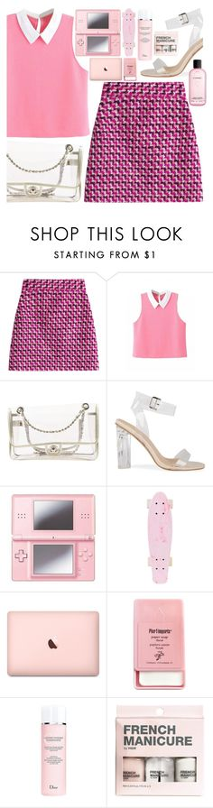 """""""Mini blog post random acts of kindness"""" by floralandmay on Polyvore featuring MSGM, Chanel, Nintendo, Pier 1 Imports, Christian Dior, H&M, MAC Cosmetics, Pink, clean and clear"""