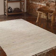 More than  boring white our  Kleine Rug gives your room intricate texture. http://www.myswankyhome.com/stockton-8-x-10-rug-white/