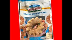 Happy Birthday 80th Krispy Kreme Doughnuts