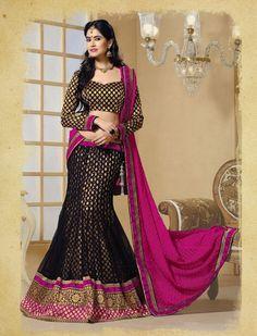 Semi-stitched Ethnic Lehenga Product code: SFJS65008