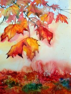 Ann Mortimer's Painting Blog: Autumn inspirations...