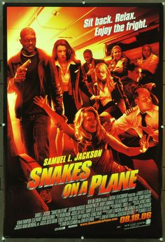MovieArt Original Film Posters - SNAKES ON A PLANE (2006) 20677, $25.00 (http://www.movieart.com/snakes-on-a-plane-2006-20677/)