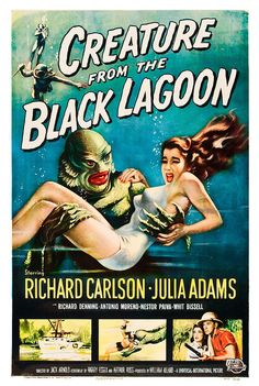 Reynold Brown - Creature From the Black Lagoon (Universal International, 1954) by Aeron Alfrey, via Flickr