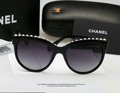 Chanel cateye shades