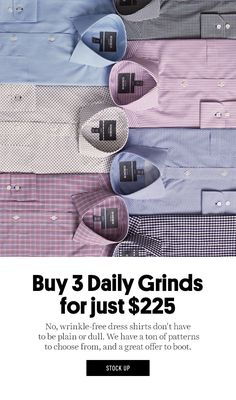 Buy 3 Daily Grinds for just $225