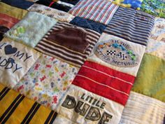 Baby Clothes Memory Quilts...I wish I had kept more baby clothes!