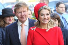 King Willem-Alexander and Queen Maxima of The Netherlands in Hamburg, Germany on March 20, 2015. The Dutch King Willem-Alexander and Queen Máxima has continued his working visit to Hamburg on Friday