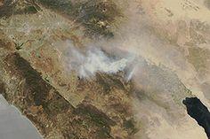 Mountain Fire, California : Natural Hazards : NASA Earth Observatory