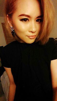 #blackdress #earrings #asos