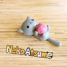 Hi everyone!  I just uploaded another Neko Atsume tutorial! This time I show you how to make Shadow playing with a ball of yarn  My Youtube channel is Creative Rachy if you would like to check out the video! Don't forget to use #rachyh96 if you post a photo inspired by me so I can see it and feature it at the end of one of my tutorials  Hope you like it! ✌ #polymerclay #polymer #clay #cute #kawaii #cat #kitty #neko #nekoatsume #shadow #yarn #tutorial #sculpey #fimo #premo #craft #handmade