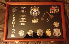 Philadelphia Police badges, ranks, special unit pins, ect...