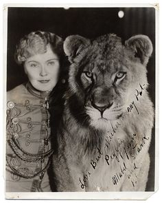 Mabel Stark Was the First Tiger Trainer