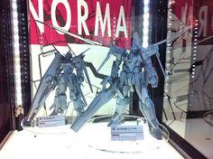 MG Gundam AGE-3 Normal & AGE-FX at Gunpla Expo World Tour 2012 Japan