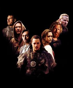 The Last Kingdom - Bernard Cornwell. 8 part series on Netflix. Season two in the making. Sooooo good! Getting the books tomorrow!