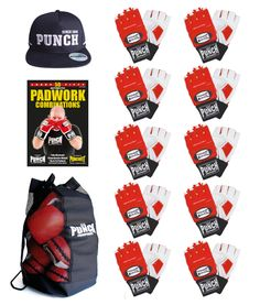 Punch Boxing Equipment · Specials · 10 x Red Large Debt Collectors e4f32415a6547