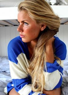 Liking this blonde color for summer!  Very beachy-looking.
