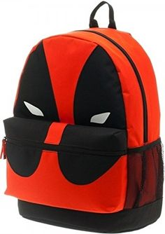 Marvel Deadpool Mask Backpack * Find out more about the great product at the image link. (This is an affiliate link) #Marvel