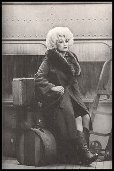 Dolly Parton and coats with fur