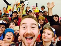Ok is it me or are those Bill cosplayers creeping me out >_<|| Alex is an adorable dorito baby isn't he