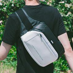 에이치티엠엘(HTML) [에이치티엠엘]HTML - Muscle L5 Waist Bag (BLACK/WHITE) 가방 웨이스트백 힙색